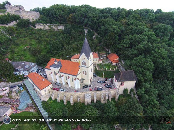 Farsky church in Trencin Slovakia.