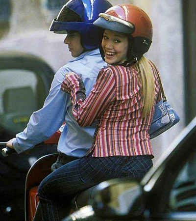 2. Your ultimate date fantasy involves cruising on a Vespa with an Italian pop star.