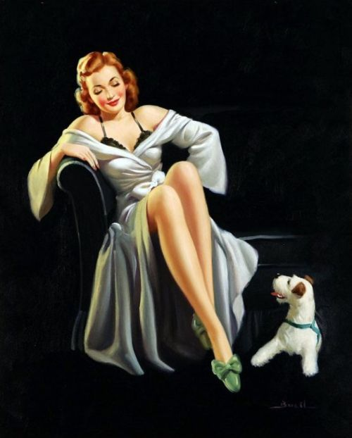 """""""A Perfect Pair"""", Al Buell: Pinups, Vintage Pinup, Vintage Pin Up, Pinup Girls, Pin Ups, Vintage Pins, Pin Up Girls"""