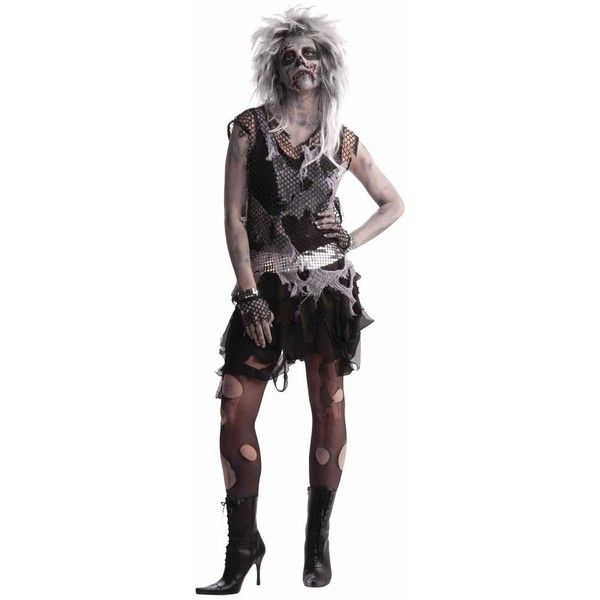 womens punk zombie costume 30 liked on polyvore featuring costumes halloween costumes - Halloween Punk Costume