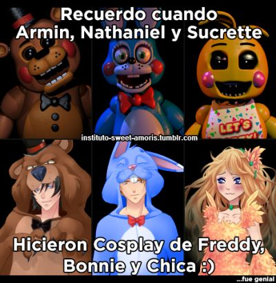 Corazon de melon Five Night at Freddy's