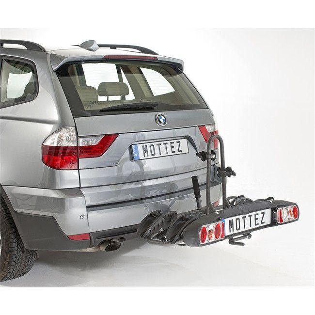 Porte 2 vélos d'attelage plate-forme MOTTEZ Platinium A021P2RA - 287,50€