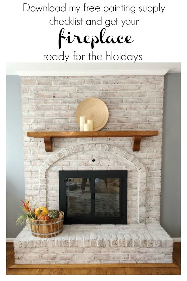 Go Ahead Paint That Fireplace With Images Fireplace Pretty