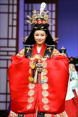 traditional hanbok.