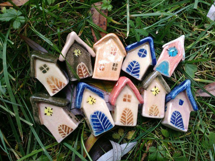 Színes kis házak