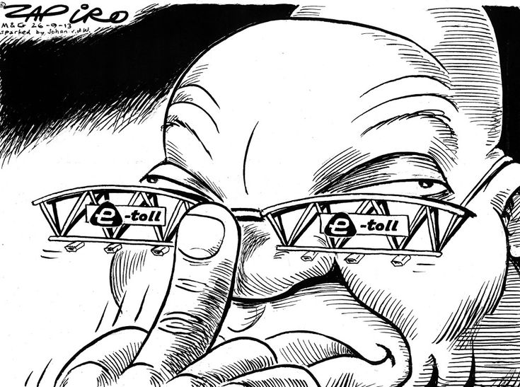 Zapiro: Zuma and e-tolls - Mail & Guardian