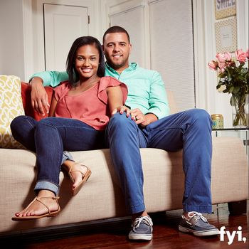 """Vanessa Nelson and Tres Russell on """"Married at First Sight""""  http://www.examiner.com/article/married-at-first-sight-season-3-vanessa-shares-her-fear-with-tres"""