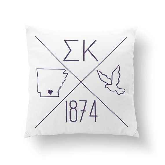 ▽ DESIGN ▽  This fun pillow is personalized with your city and state! Choose between an adorable little 10 pillow or a large, squishy 16 pillow.  Your