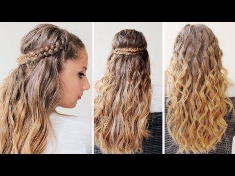 ▶ Onde estive con Treccia!! - Hair Tutorial - YouTube