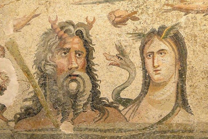 Amazing Pictures Of 2200 Year Old Ancient Greek Mosaics Discovered In Turkey in 2014