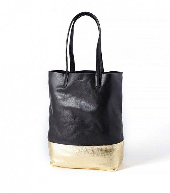 Baggu Leather Tote Bag