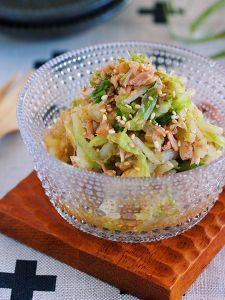 これは危険!無限に食べれる♪『白菜とツナのおかかポン酢あえ』 by Yuu   レシピサイト「Nadia   ナディア」プロの料理を無料で検索