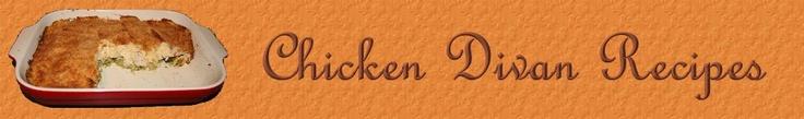 Chicken Divan Casserole Recipes, Bechamel Sauce, Mornay Sauce