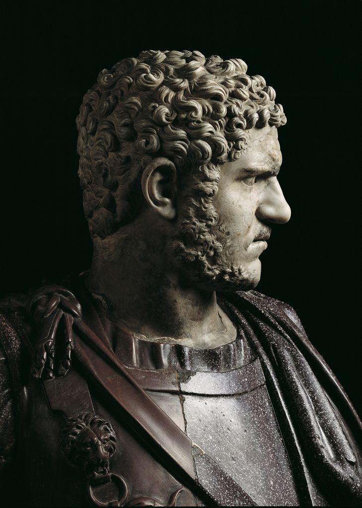 aphrodisiazein:  last-of-the-romans:  ganymedesrocks:  BUST OF CARACALLA Third century (215-217 AD) - Roman Empire Capitoline Museums - Hall of the Emperors Rome  Splendid!