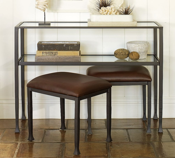 Foyer Table With Stools : Best foyer images on pinterest picture wall