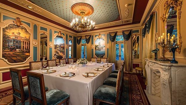 EXCLUSIVE: @Disney has revealed a new private-dining experience within a secret @Disneyland location. Earlier this month Robb Report got an exclusive first look at the experience called 21 Royalwhich is available to just a single party of 12 per night and priced at $15000 (including tax gratuity valet and park admission). The 21 Royal evening begins with specially trained guides greeting your party at the Disneys Grand Californian Hotel & Spa and leading you to the most exclusive address…