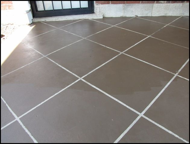 staining concrete patio to look like tileHouse Ideas, Diy Painting, Concrete Patios, Stained Concrete, Concrete Porches, Painting Cement, Concrete Stained, Concrete Floors, Patios Floors