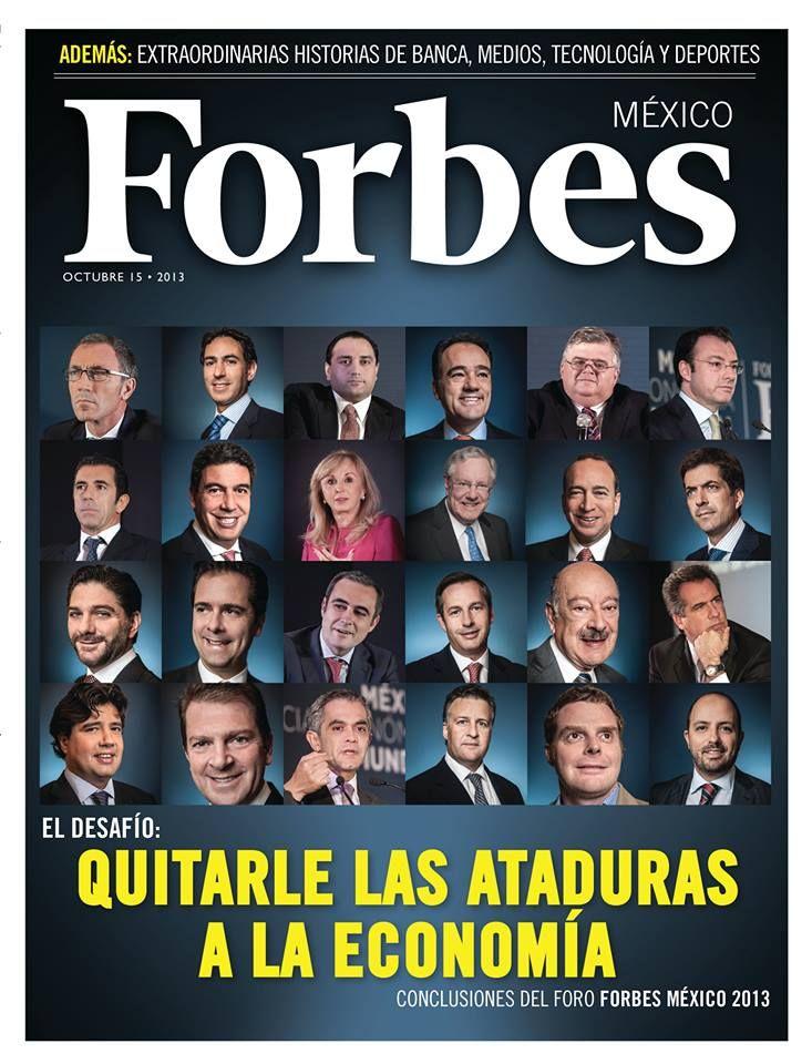 Especial Foro Forbes: Quitarle las ataduras a la economía (octubre). http://forbes.com.mx/