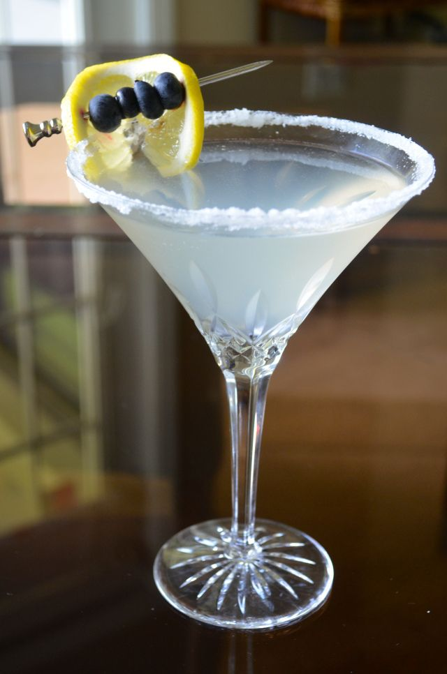 Friday at Five: Blueberry Lemondrop Martini | GO GO GO Gourmet!