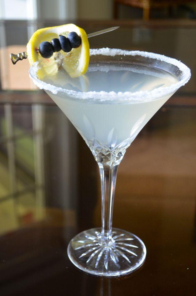 Friday at Five: Blueberry Lemondrop Martini | GO GO GO Gourmet!