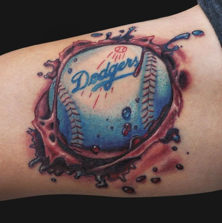12 best los angeles dodgers tattoo images on pinterest dodgers baseball los angeles dodgers. Black Bedroom Furniture Sets. Home Design Ideas