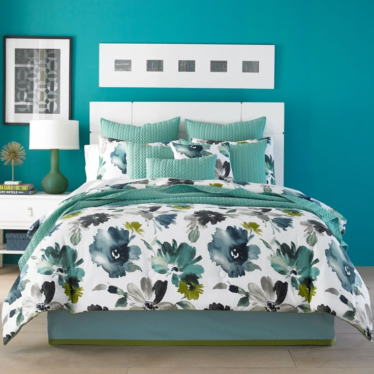 17 Best Ideas About Teal Comforter On Pinterest Teal