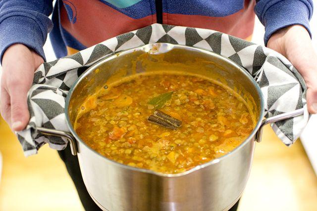 Faki, grekisk linssoppa