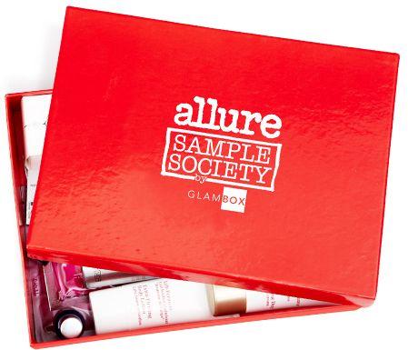 AllureBox: получайте наборы с сэмплами косметики лучших марок от бьюти-клуба Allure совместно с Glambox