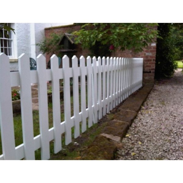 Picture Of Wood Picket Fence Panels Wooden Picket Fence Panels Vs