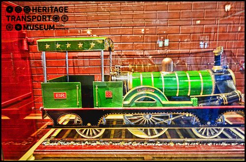 Here's a look at the model of Fairy Queen Steam Engine, the very first steam #engine run in #India!