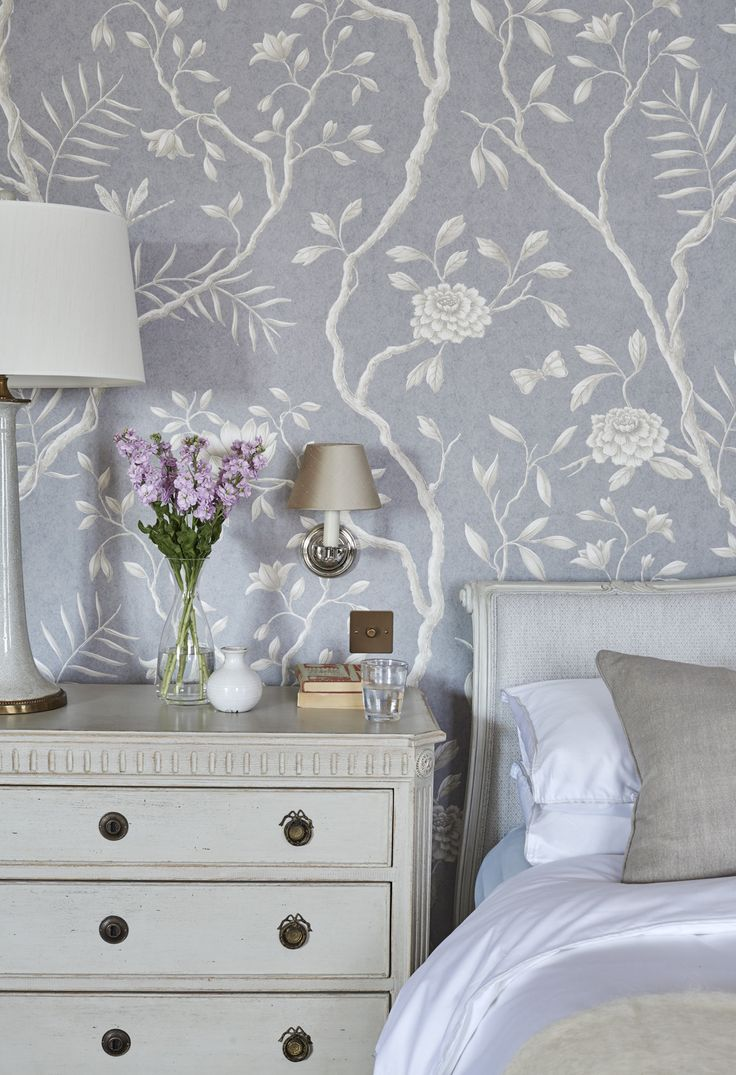 344 best wallpaper and paint images on pinterest room powder