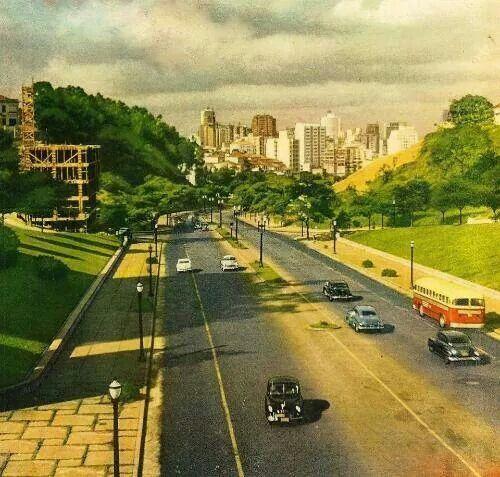 1954 - Avenida 9 de Julho.