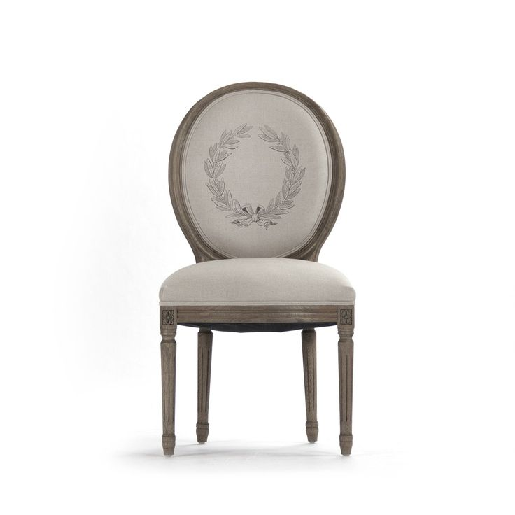 Dining Chair   Medallion Side Chair, Recycled Oak