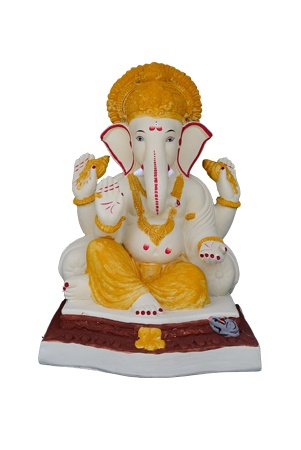 "Double Lodh Ganesha  Height 18""  MRP: Rs 3000"