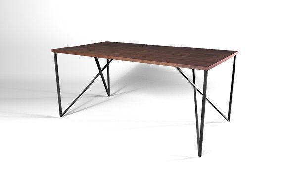 Inside Out Table Leg metal table leg diy by DIYFurnitureStore