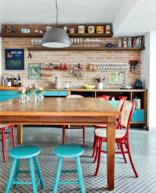 homestilo: dining room in sao paolo | photo wvelyn müller