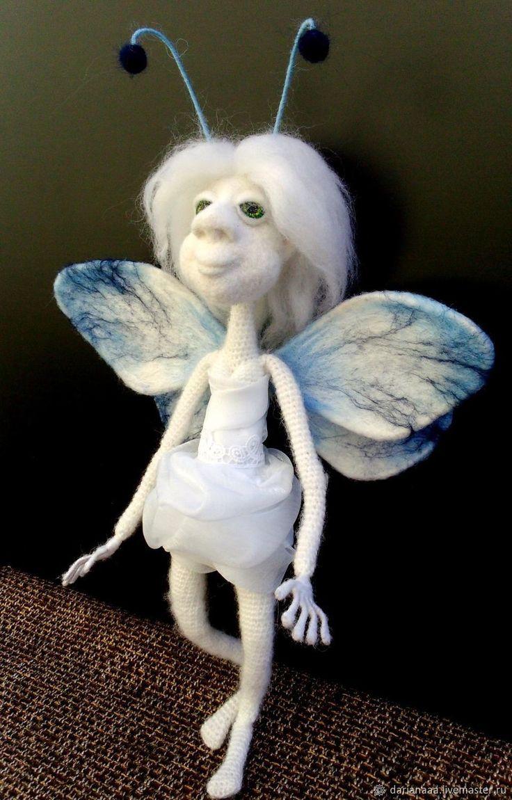 Купить Девочка фея-мотылёк в интернет магазине на Ярмарке Мастеров