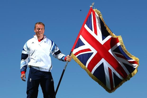 Sir Chris Hoy is announced as Team GB Olympic London 2012 Flag Bearer