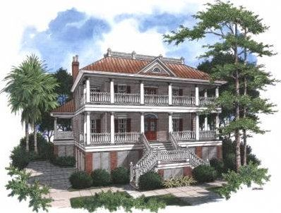 14 Best Images About Charleston House Plans On Pinterest
