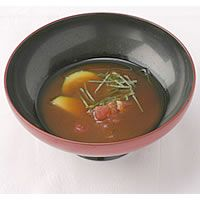 Tomato & Zucchini Cold Miso Soup  トマトとズッキーニの冷製みそスープ・味噌料理レシピ作り方【MISO ONLINE】
