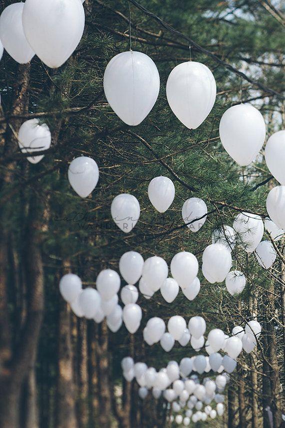 Romantic Forest - Photographic Print - Korea, Asia,  Travel, Wanderlust, Decor, lanterns, white, green, Wall, Hanging, Adventure, namiseom