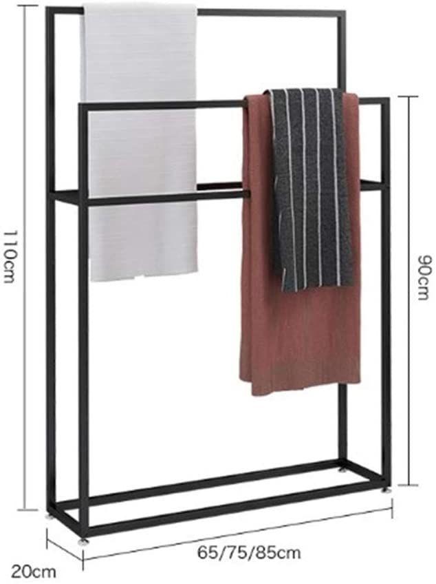 WING Handtuchständer freistehend Metall handtuchhalter Bad