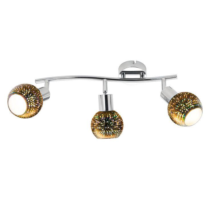 EEK A++, LED-Deckenleuchte Firework I - Acrylglas / Metall - 3, Nino Leuchten