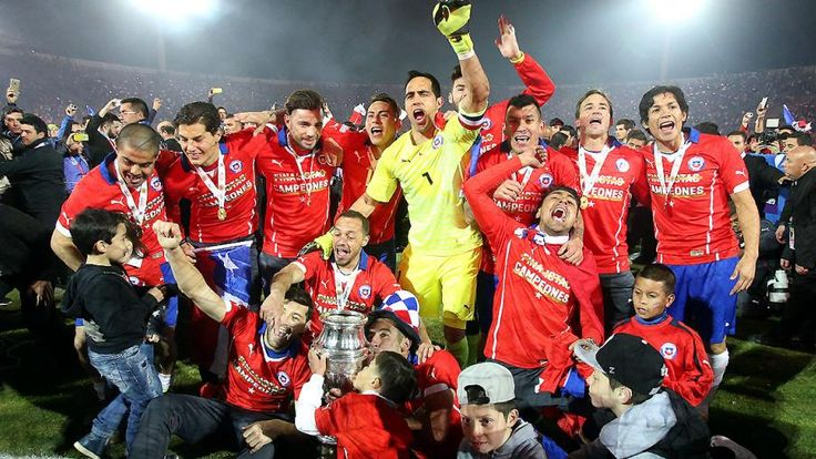 CHILE CAMPEON DE AMERICA 2015