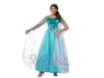 Karlar Ülkesi Frozen Elsa Yetişkin Kostüm
