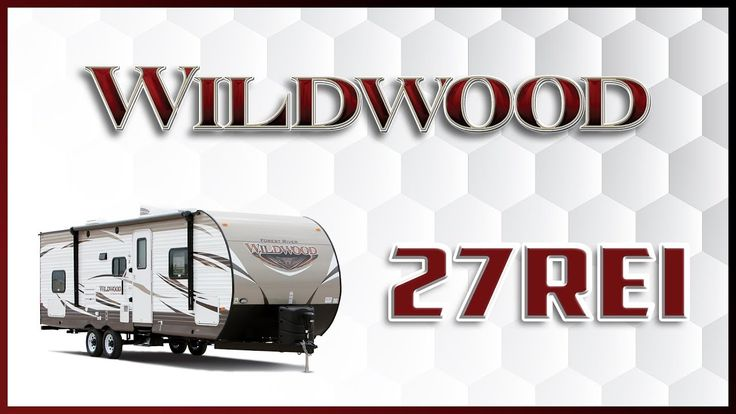 2018 Forest River Wildwood 27REI Travel Trailer RV For Sale Lakeshore RV Center Find out more about 2018 Wildwood 27REI at https://lakeshore-rv.com/wildwood-rv/wildwood-27rei/?pr=true call 231.760.8805 or stop in and see one today!  Unleash your inner explorer with this fantastic 2018 Wildwood 27REI travel trailer from Lakeshore RV Center!  This unit is built on a powder-coated I-beam frame and has a full walk-on one-piece seamless SuperFlex roof with a 12-yr warranty. It has an aerodynamic…