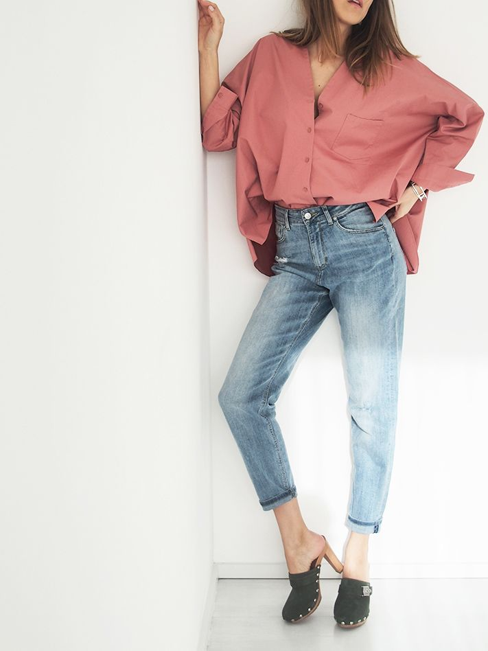www.helloshopping.de, coloroftheyear, pink, rose, babyblue, trends, colors, 2016, cos, mom jeans, denim, clogs