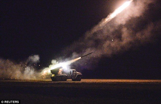 Firepower: Ukraine and the West accuse Russia of sending troops and arms to support separa...