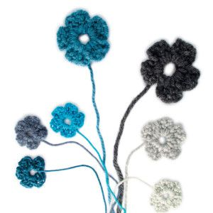 How to make easy crochet flowers #Craft #Crochet #Flowers #SouthAfrica