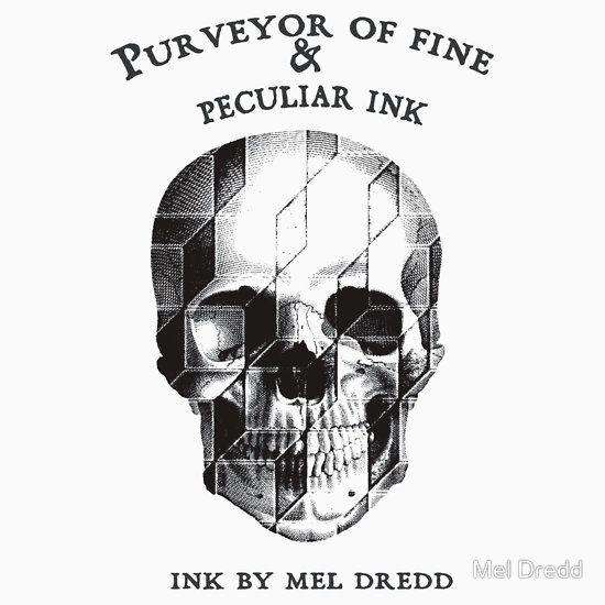 Ink By Mel Dredd Skull